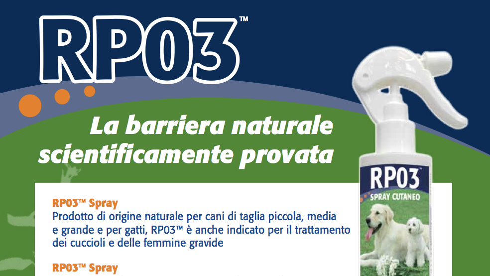 RP03 Spray: l'efficacia naturale scientificamente provata contro i flebotomi