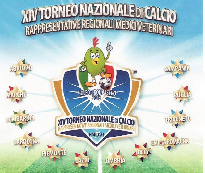XIV torneo nazionale di calcio dei Medici Veterinari
