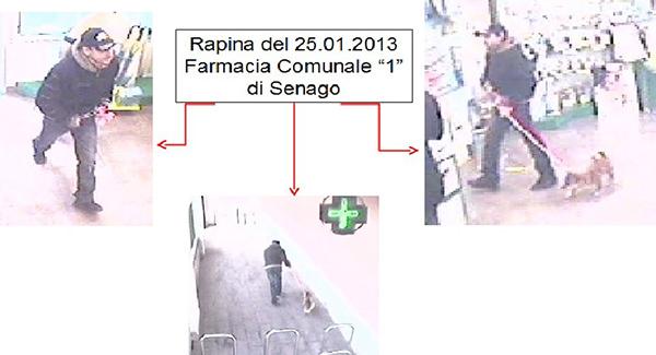 Milano: rapinavano farmacie con il cane, arrestati