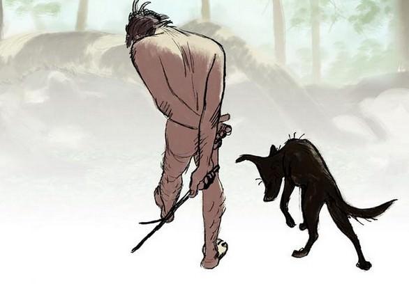 Cortometraggio: l'incontro tra il primo uomo e il primo cane